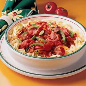 Bacon and Pepper Pasta Recipe