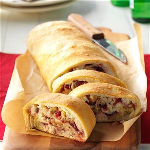 Holiday Stromboli Recipe