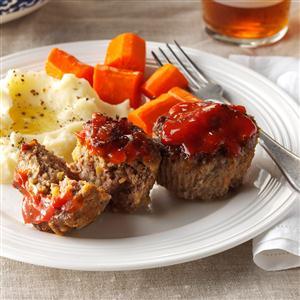 Favorite Meat Loaf Cups Recipe
