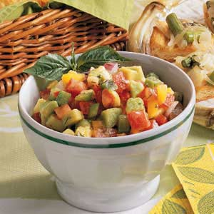 Pepper Avocado Salsa Recipe