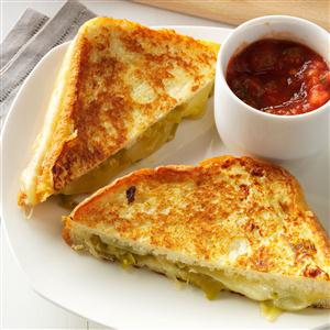 Chile Relleno Sandwiches Recipe