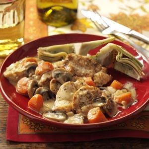 Marsala Chicken & Mushrooms Recipe