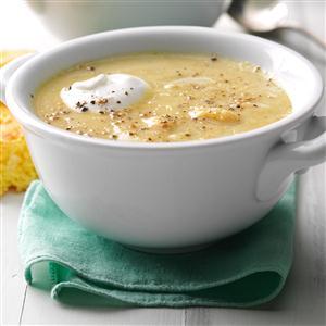 Summer Squash & White Bean Soup Recipe