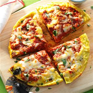 Sausage & Mushroom Pizza Frittata Recipe