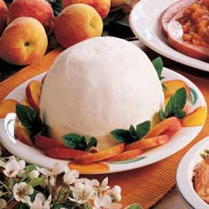 Frozen Peach Dessert Recipe