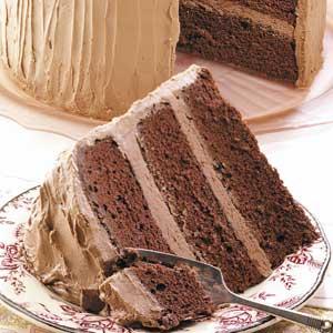 Sour Cream Chocolate Cake Recipe