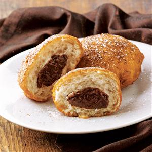 Coffee & Cream Doughnuts Recipe