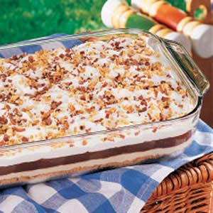 Chocolate Peanut Torte Recipe