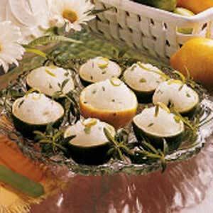 Lemon Verbena Ice Cups Recipe
