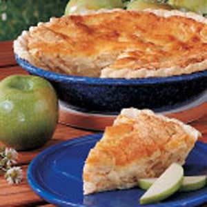 Macaroon Apple Pie Recipe