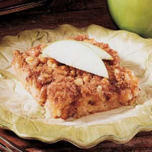 Apple Walnut Squares Recipe