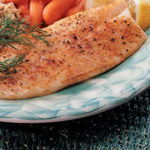 Fast Baked Fish Recipe