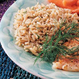 Dilled Rice Recipe