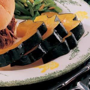 Acorn Squash Slices Recipe