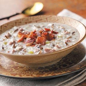 Hearty Wild Rice Soup Recipe