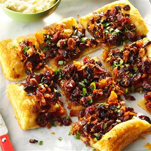 Pastry Week: Cranberry Bacon Galette