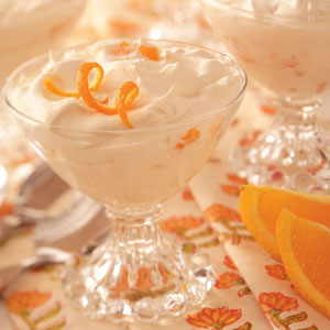 Orange Whipped Dessert Recipe