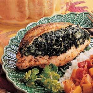 Spinach-Stuffed Chicken Recipe