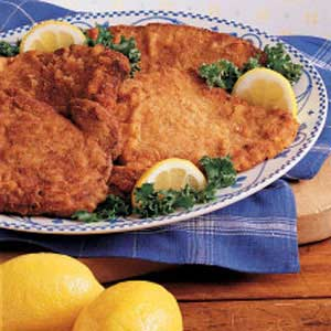 Honey-Mustard Pork Scallopini Recipe