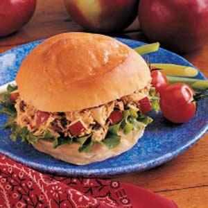 Curried Tuna Sandwiches Recipe