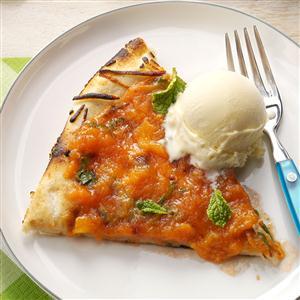 Peachy Dessert Pizza Recipe
