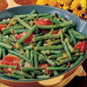 Spanish String Beans Recipe