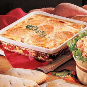 Sweet Potatoes Au Gratin Recipe