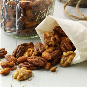 Slow Cooker Candied Nuts Recipe