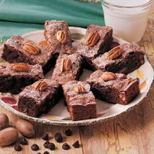 Moist Cake Brownies Recipe