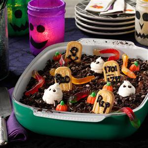Graveyard Halloween Party