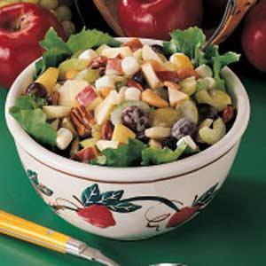 Nutty Apple Salad Recipe