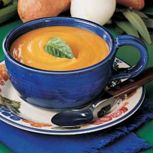 Harvest Sweet Potato Soup Recipe