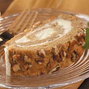 Persimmon Nut Roll