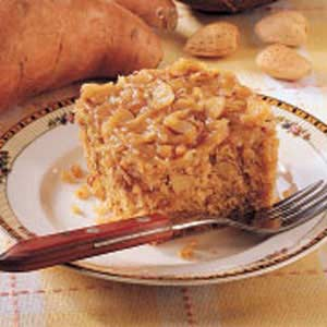 Frosted Sweet Potato Cake Recipe