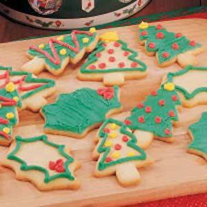 Cutout Sugar Cookies Recipe