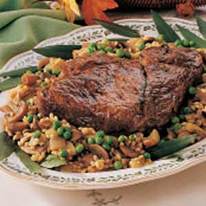 Braised Beef with Barley Recipe