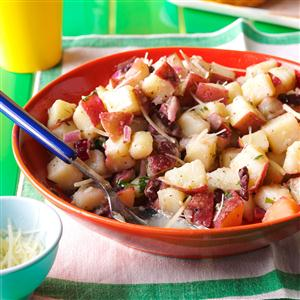 Red Potato Salad with Lemony Vinaigrette Recipe
