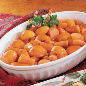 Fruited Sweet Potatoes Recipe