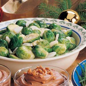 Dijon-Dill Brussels Sprouts Recipe