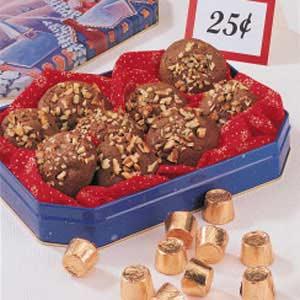 Chocolate Caramel Cookies Recipe