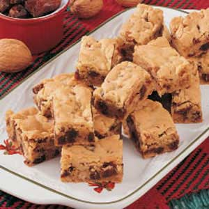 Chewy Date Nut Bars Recipe