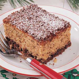 Chocolate Chip Snack Cake Recipe