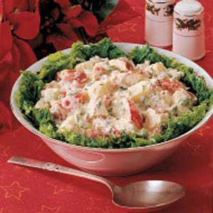 Festive Potato Salad Recipe