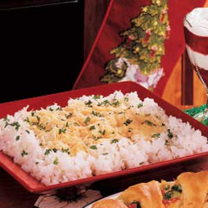 Parmesan Buttered Rice Recipe