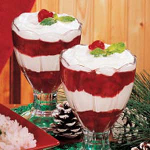 Cherry Cream Parfaits Recipe