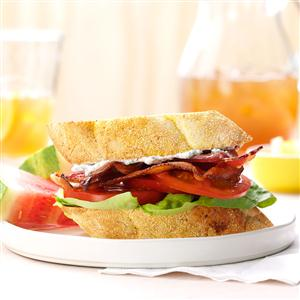 Basil BLTs Recipe