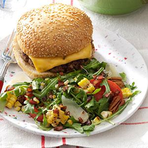 Fresh Corn & Arugula Salad Recipe