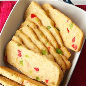 Jeweled Cookie Slices Recipe
