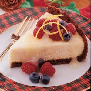 Tangy Lemon Cheesecake Recipe
