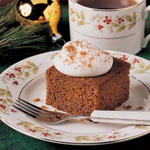 Plantation Gingerbread Recipe